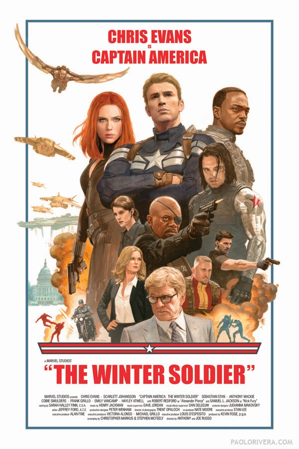 Read about the poster here - http://paolorivera.blogspot.com/2014/03/captain-america-winter-soldier.html