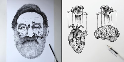 00-Alfred-Basha-Diverse-Black-and-White-Surreal-Drawings-www-designstack-co
