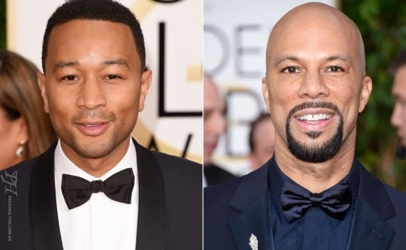 John Legend e Common no discurso de aceitação do Oscar
