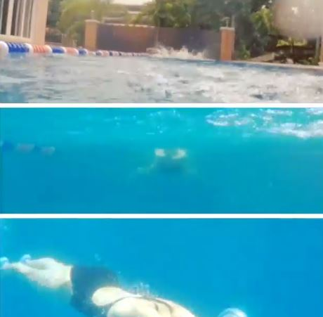 'Nakaka-miss rin pala' - Angel Locsin Shows Her Swimming Skills That Will Make Your Jaw Drop! STUNNING!
