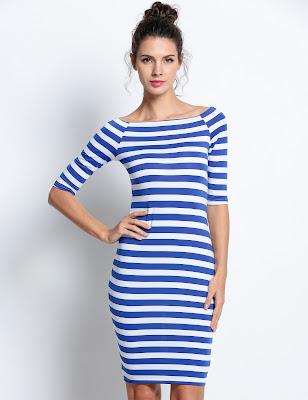 Vestidos Cortos Azules 2017