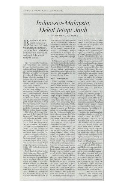 Fluktuasi Hubungan  Indonesia-Malaysia