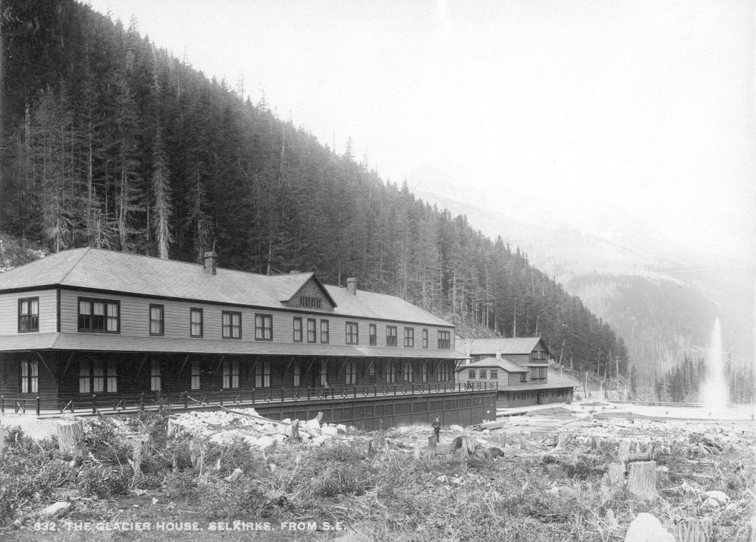 833 the glacier house selkirks from s e ca 1890 boorne may fonds v10 pa 05