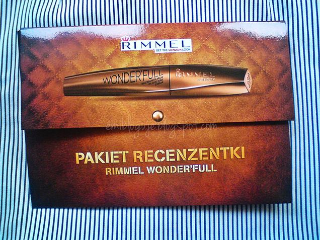 # 77 PAKIET RECENZENTKI RIMMEL WONDER'FULL - MOJE PIERWSZE WRAŻENIE ...