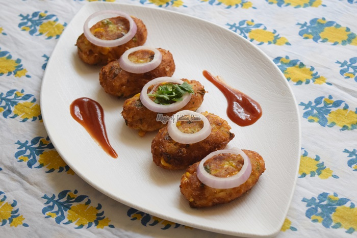 Corn Kebab - Bhutte De Kabab - Magic of Indian Rasoi - Priya R