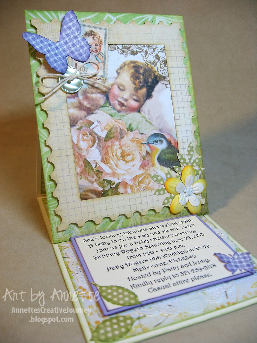 Annette S Creative Journey Graphic 45 Sympathy Amp Baby