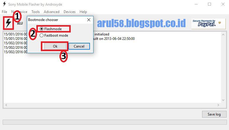 Cara Flash Sony Xperia C C2305 Work 100 – Wonderful Image