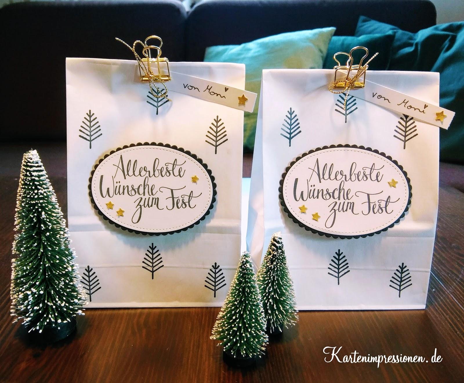 Kartenimpressionen: Frohe Weihnachten