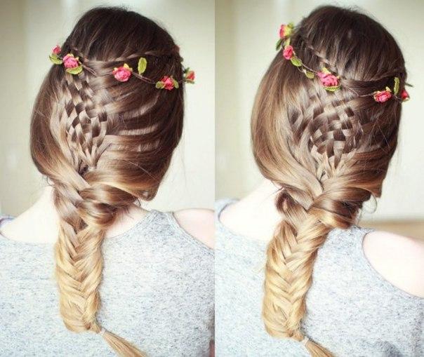 Trenzas pegadas para el verano ~ Belleza y Peinados