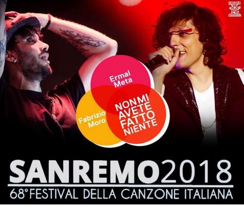 Ermal Meta with the new song for Sanremo 2018: Non mi avete fatto niente