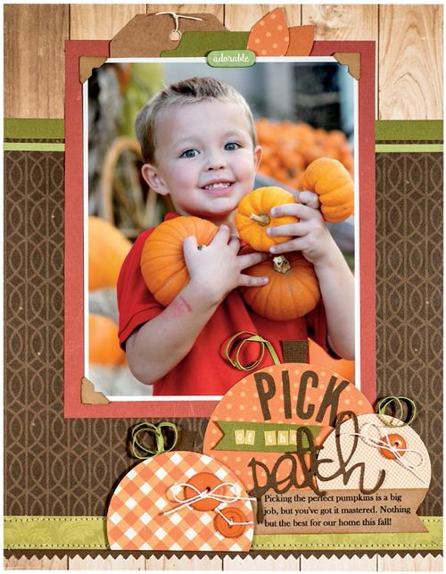 SCT Fall 2016 Magazine Cover Attempt by Jen Gallacher from www.jengallacher.com. #scrapbooking