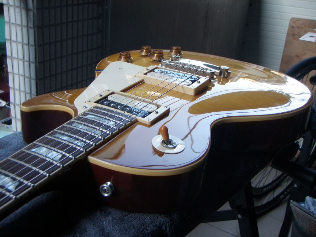 today we re going to do a setup on a les paul style guitar for this post i ll be setting up a burny super grade guitar but the set up is the same  [ 1024 x 768 Pixel ]