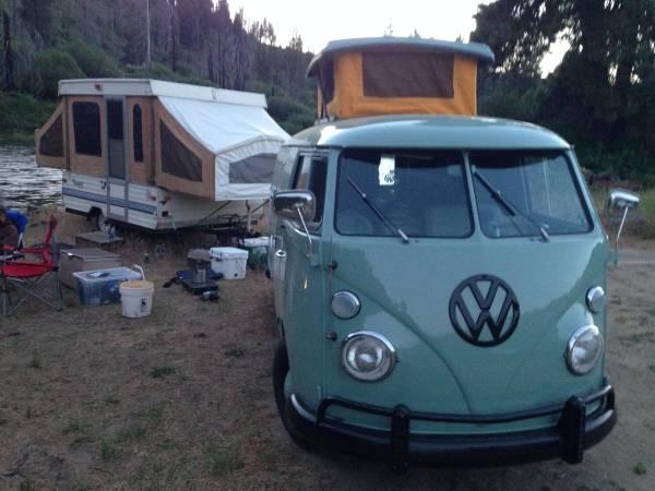 1967 vw bus panel camper vw bus wagon. Black Bedroom Furniture Sets. Home Design Ideas