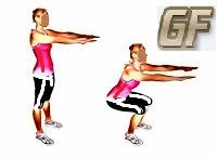 Cara mengecilkan paha squat