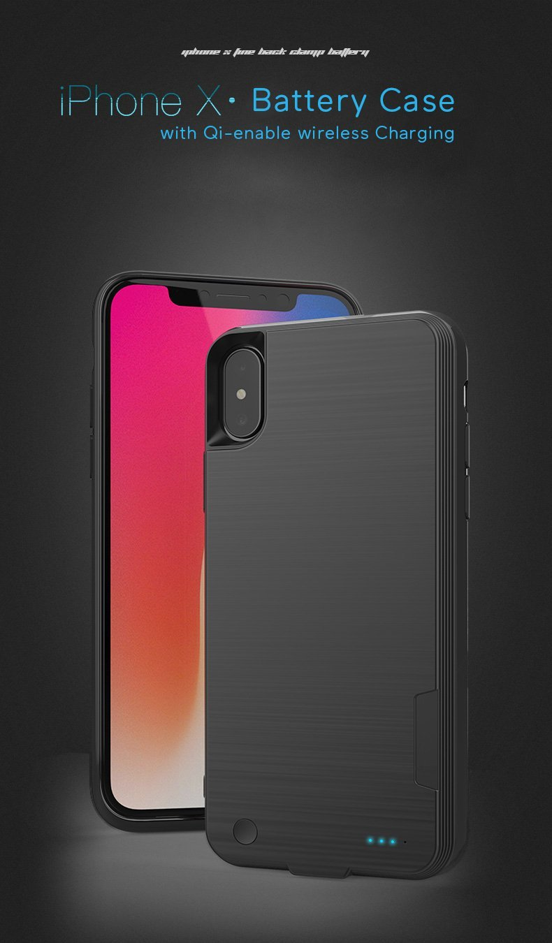 Battery Case For Iphone X Best Iphone X Thin Battery Case With Wireless Charging