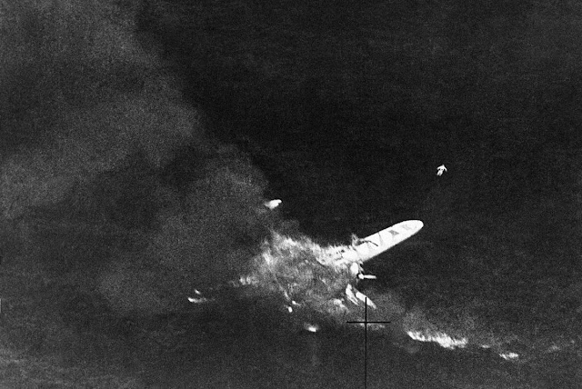 Cant Z506 flying boat shot down, 18 August 1941 worldwartwo.filminspector.com