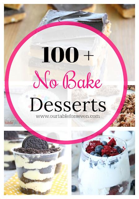 100 +  No Bake Desserts