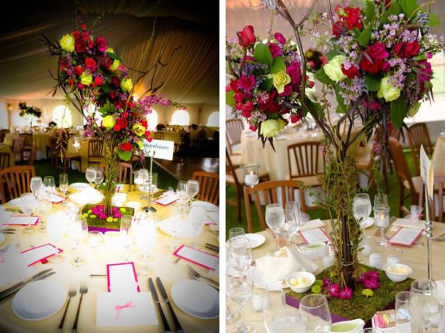 Unique Wedding Ideas Garden Themed Centerpieces