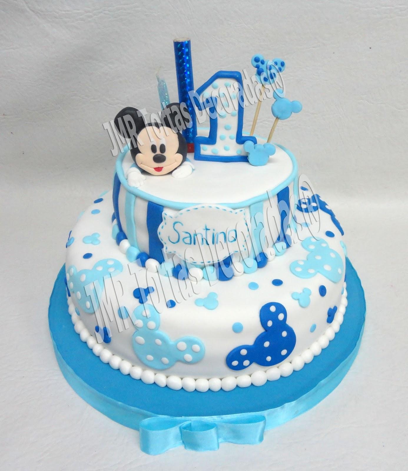 Cake De Mickey Mouse Bebe