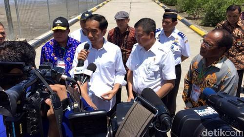 Jokowi: Jalur Kereta Papua Dibangun Semester II Tahun Ini