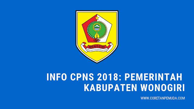 Info CPNS Wonogiri 2018