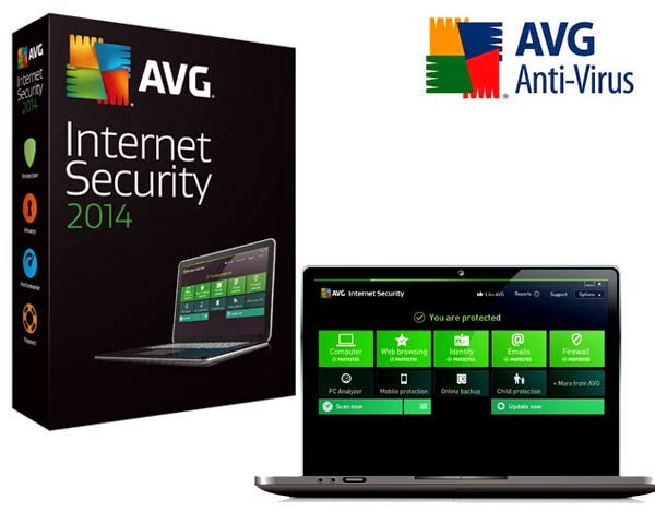 Download AVG Internet Security 2014 14.0 Build 4570 Full Version