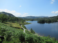 A view overlooking Rydal caves lake - by: © Paul c Walton