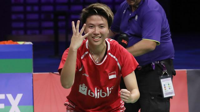 Inilah Lawan Berat Dua Tunggal Putri Indonesia pada All England Open 2019