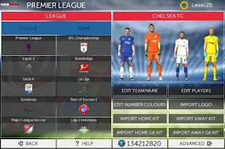 FTS 15 Mod PES 2018 by EvoPatch v1.0 Apk + Data Obb Android