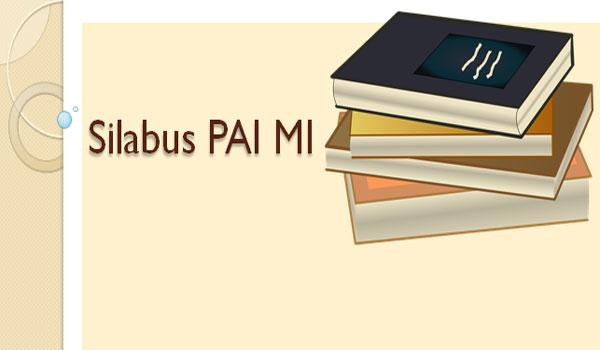 Silabus PAI dan Bahasa Arab Untuk MI Kelas 1 2 4 5 Kurikulum 2013 Revisi 2017