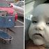 Su bebé enfermó gravemente tras sentarlo en un carrito de la compra