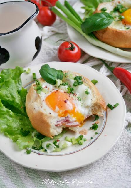 gorące pieczywo, śniadanie na ciepło, co na śniadanie, pożywne śniadanie, daylicooking