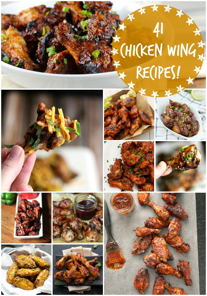 41 Chicken Wing Recipes for #wingweek