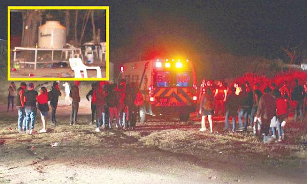 """Universitarios preparan """"agua loca"""" en un tinaco y resultan intoxicados"""