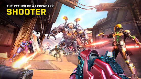 Shadowgun Legends Mod Apk Android