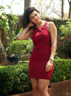 Archana Vijaya in Sexy Red Dress