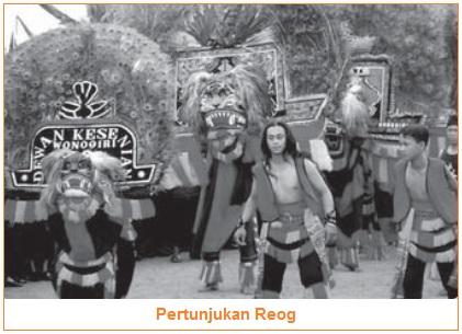 Reog - Contoh Jenis-Jenis Teater Tradisional di Indonesia