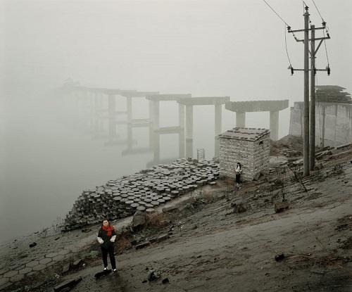 Jiagang Chen, imagenes soledad surrealista, contaminacion, fotos chidas inspiradoras, neblina,