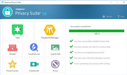 Steganos Privacy Suite 19 full