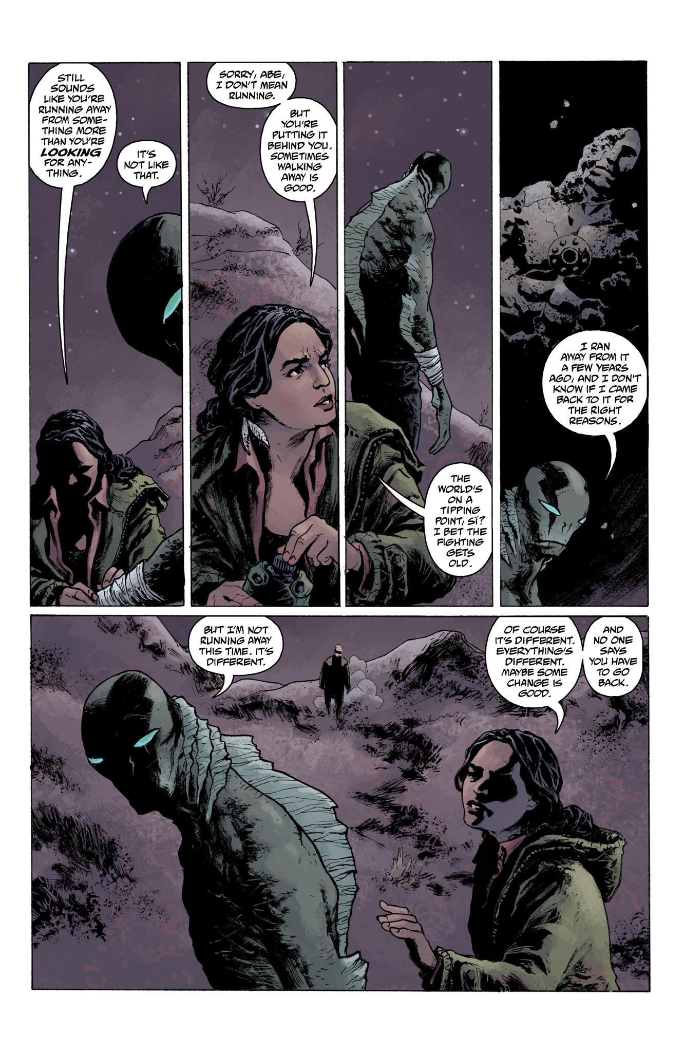Read online Abe Sapien comic -  Issue #6 - 17