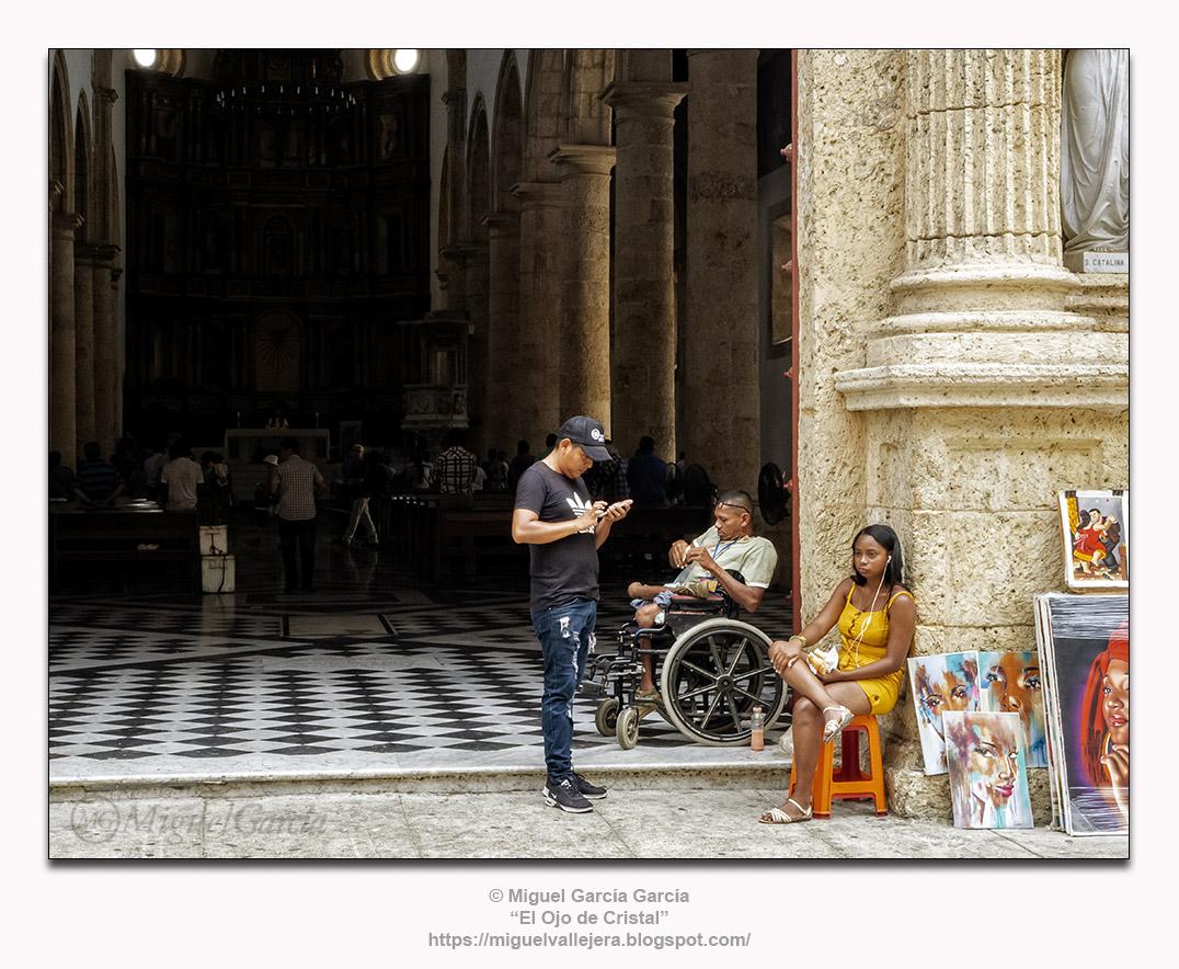 Santa Catalina de Siena, Cartagena de Indias.- Entrada.