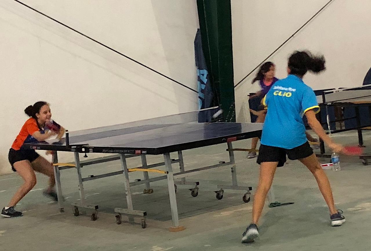 Metro tiro deportivo y tenis de mesa realizan tope de for Campo de tiro las mesas