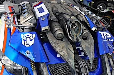 Transformers Nascar 6 - Mira estás nuevas imagenes de Transformers en el Daytona 500!