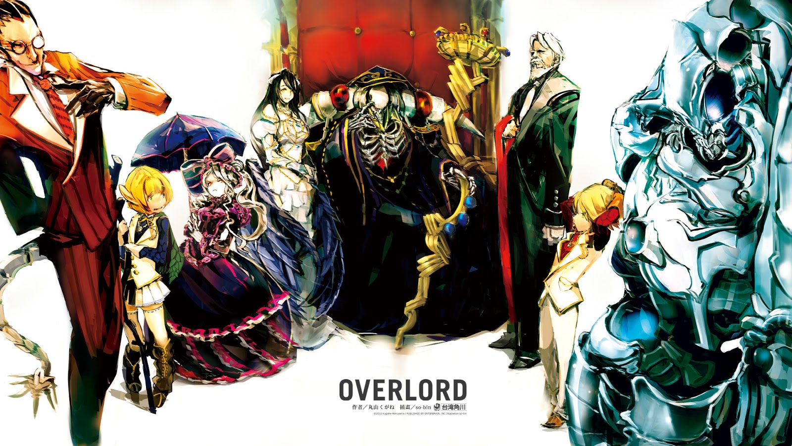 OverLord Episode 1 - 13   480p     Umarun