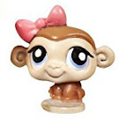 Littlest Pet Shop Teensies Monkey (#T9) Pet