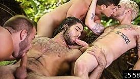 Tarzan : A Gay XXX Parody Part 3 – Colton Grey, Diego Sans, Luke Adams, Tobias