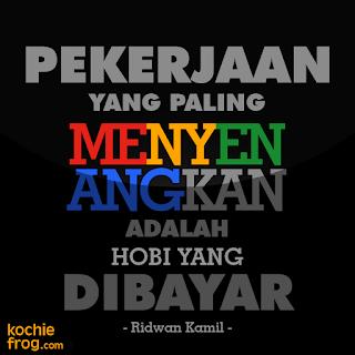 DP BBM Kata Bijak Ridwan Kamil