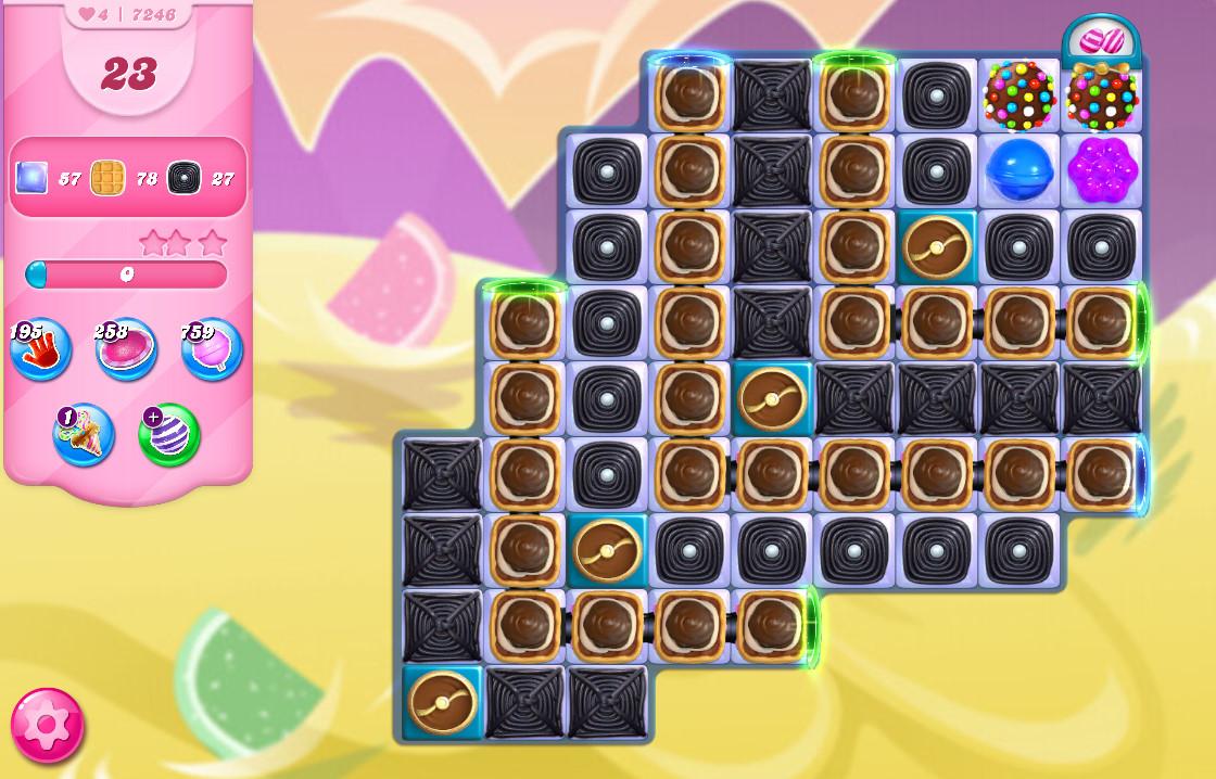 Candy Crush Saga level 7246