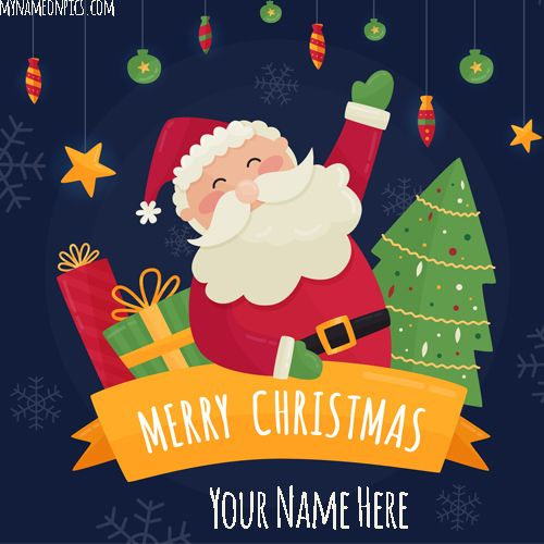 Merry Christmas 2018 Tree Images Cartoon 2018