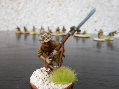 bolt action japonés andando